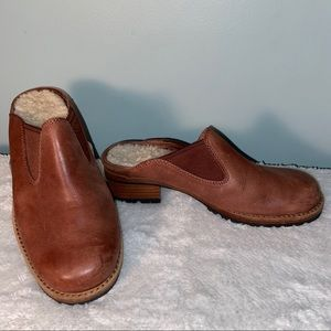 UGG Leather Mules Size 6